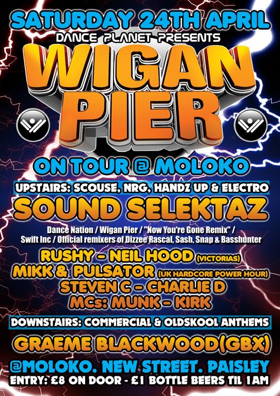 Wigan Pier Rave Wigan Pier